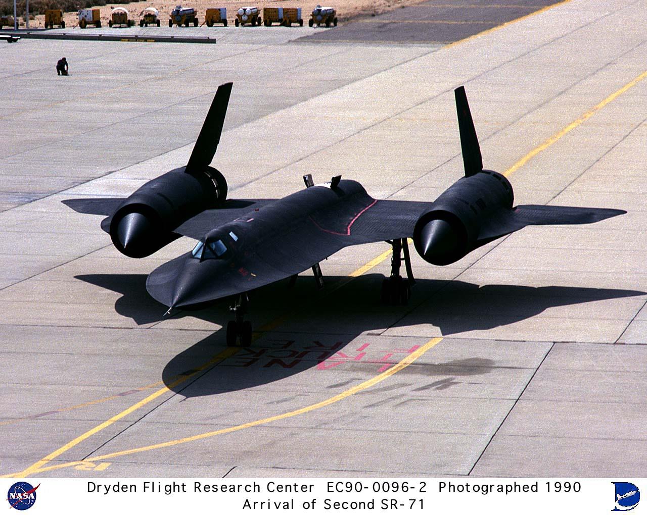 SR-71 Blackbird Speed